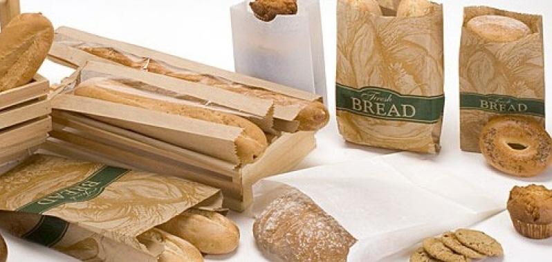 Бумажная упаковка для хлеба
